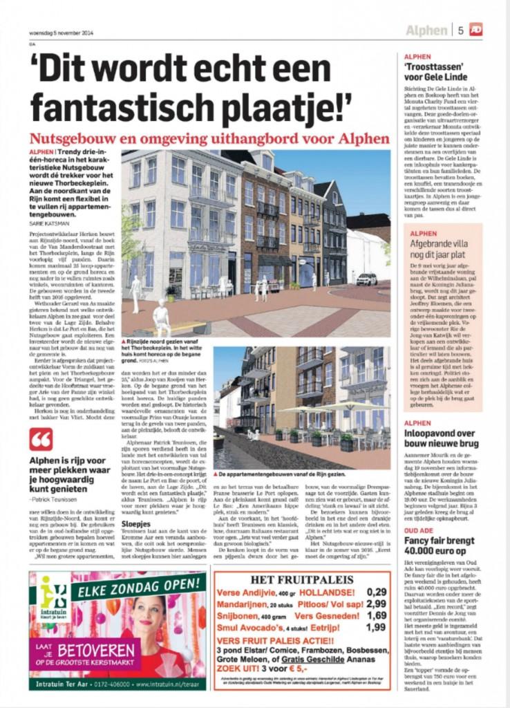 AD - Oude Rijnkade 5-11-2014